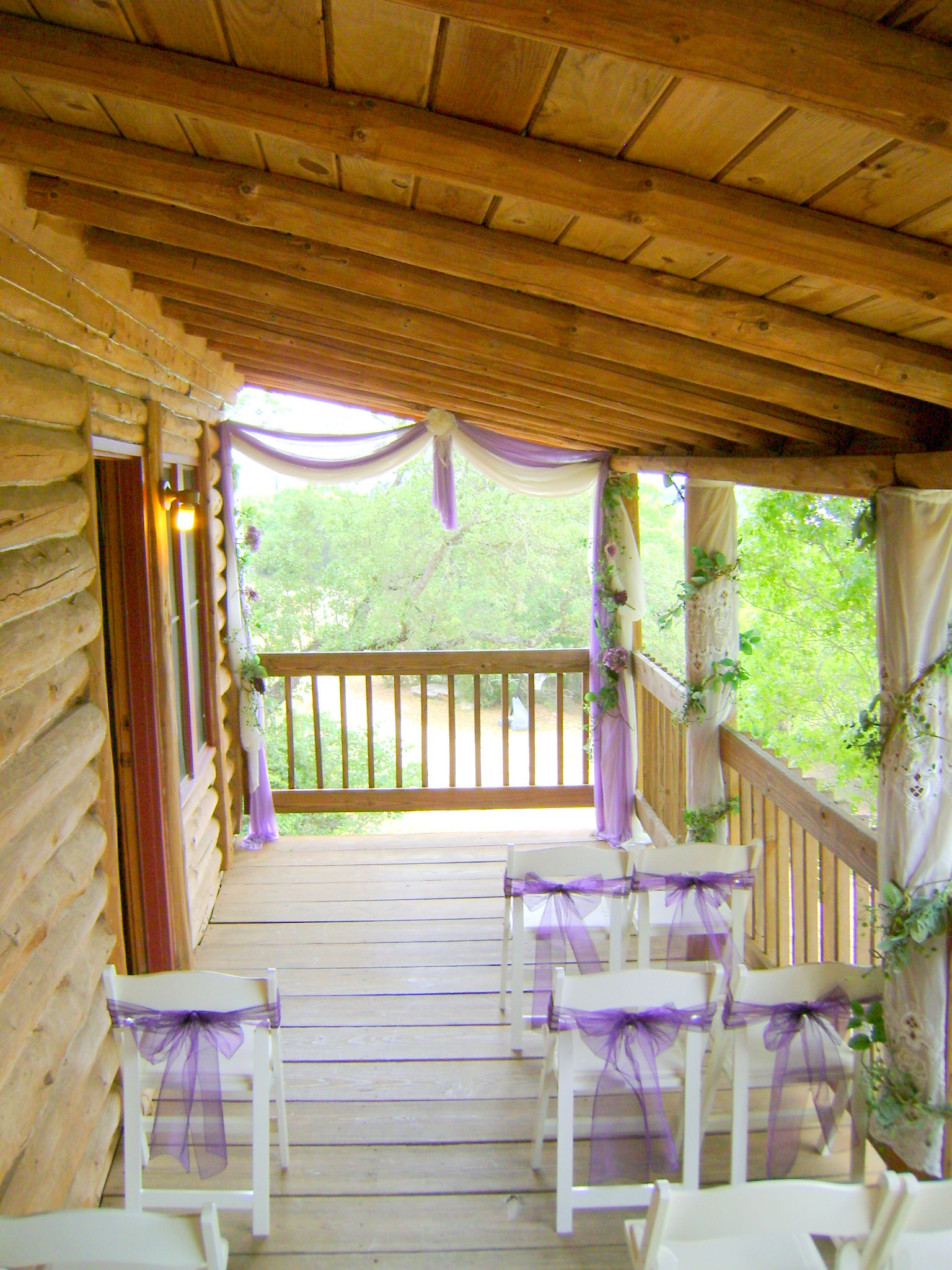 Log cabins at jacobs creek weddings and special events for Log cabin wedding